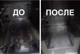Очистка коптильного оборудования средством Синталюкс на мясокомбинате в Самаре (фото)